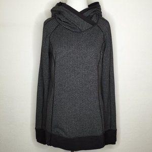 Lululemon pullover hoodie gray sz 8